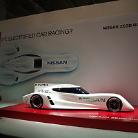 Nissan Zeod RC, electric race car at the IAA 2013, Frankfurt, Germany