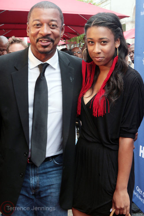 6 July-Miami Beach, Florida- Actor/Director Robert Townsend and daughter, Sierra Townsend at the Film Life's 15th Annual American Black Film Festival Opening Night Screening of ' In The Hive ' held at The Colony Theater on July 6, 2011 in Miami Beach, Florida. Photo Credit: Terrence Jennings