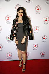 LOS ANGELES, CA - SEP 20: Yarel Ramos attends The Latin GRAMMY Acoustic Sessions at The Novo Theater September 20, 2017, in Downtown Los Angeles. Byline, credit, TV usage, web usage or linkback must read SILVEXPHOTO.COM. Failure to byline correctly will incur double the agreed fee. Tel: +1 714 504 6870.