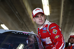 November 2, 2018 - Ft. Worth, Texas, United States of America - Ryan Reed (16) hangs out in the garage during practice for the O'Reilly Auto Parts Challenge at Texas Motor Speedway in Ft. Worth, Texas. (Credit Image: © Justin R. Noe Asp Inc/ASP via ZUMA Wire)