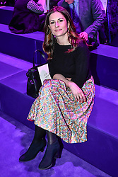 Guest on the front row during the Gucci catwalk show during Milan Fashion Week 2017
