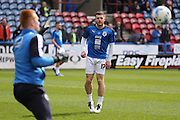 Huddersfield Town forward Harry Bunn (17)  during the Sky Bet Championship match between Huddersfield Town and Hull City at the John Smiths Stadium, Huddersfield, England on 9 April 2016. Photo by Simon Davies.
