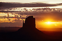 Right Mitten, Monument Valley, Utah/Arizona border, USA