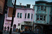 San Francisco, April 3 2012 - North Beach, the historical area of the Beat Generation.