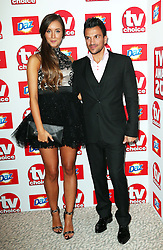 Peter Andre and girlfriend Emily MacDonagh arriving at the TV Choice Awards in London,Monday, 9th September 2013. Picture by Stephen Lock / i-Images