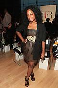 6 September 2013- New York, NY: Erica Goodman, Fashion Director, Ebony Magazine attends Harlem Fashion Row 2013 Spring Presentation held at Jazz at Lincoln Center on September 6, 2013 in New York City. ©Terrence Jennings