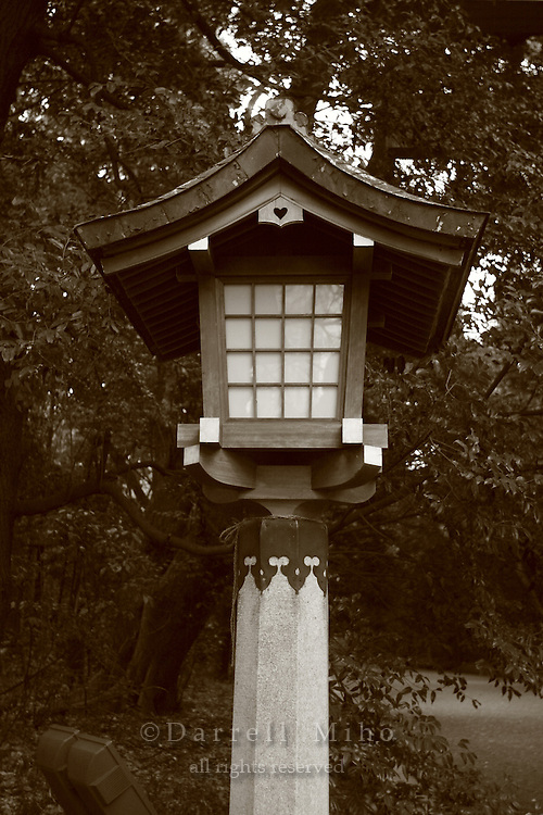 Mar 7, 2006; Tokyo, JPN; Shibuya.Entrance to the Meiji-jingu Temple and Garden...Tokyo's most venerable and refined Shinto shrine honors the Emperor Meiji and his empress...Photo credit: Darrell Miho