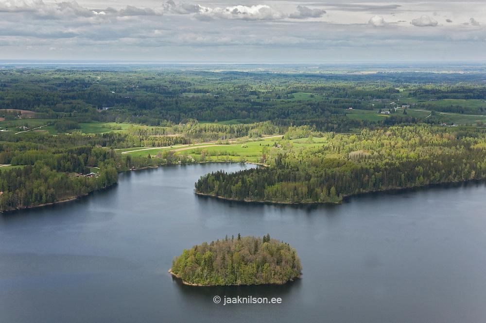 Lake Pühajärv, Valga County, Estonia