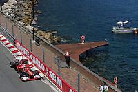 MOTORSPORT - F1 2013 - GRAND PRIX OF MONACO / GRAND PRIX DE MONACO - MONTE CARLO (MON) - 23 TO 26/05/2013 - PHOTO ALEXANDRE GUILLAUMOT / DPPI - 03 ALONSO FERNANDO (SPA) - FERRARI F138 - ACTION