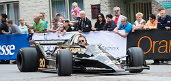 14.07.2012, Groebming, AUT, Ennstal Classic 202, Chopard Grand Prix, im Bild Rudi Raml mit einem Wolf F1, Bj. 1979 // during Chopard Grand Prix at the Ennstal Classic 2012 in Groebming, Austria on 2012/07/14. EXPA Pictures © 2012, PhotoCredit: EXPA/ J. Groder