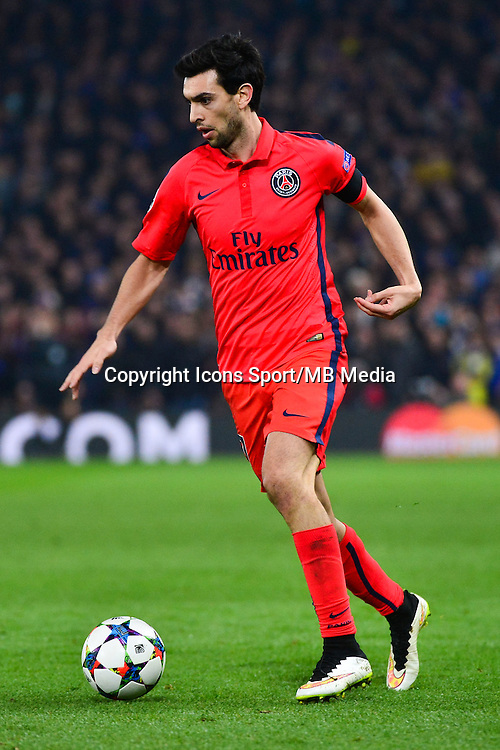 Javier PASTORE - 11.03.2015 - Chelsea / Paris Saint Germain - 1/8Finale retour Champions League<br /> Photo : Dave Winter / Icon Sport