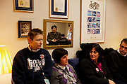 Teachers from Ohio meet with Representative Nickie J. Antonio about the ramifications of Senate Bill 5 in Columbus, Ohio on Thursday, February 24, 2011. SB5 would eliminate collective bargaining rights for state workers, which Governor John Kasich claims is a necessary reaction to the budget crisis.