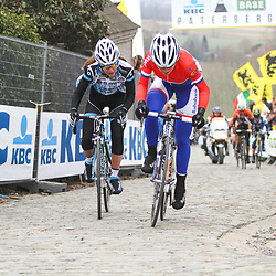 Sportfoto archief 2013<br /> Tour of Flanders women Paterberg Annemiek van van Vleuten, Anna van der Breggen