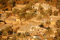 December 2006, near Baghdad, Iraq --- Aerial view of rural Iraqi family compounds, west of Baghdad. --- Image by © Owen Franken/Corbis