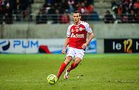 Gregory BOURILLON - 25.01.2015 - Reims / Lens  - 22eme journee de Ligue1<br /> Photo : Dave Winter / Icon Sport *** Local Caption ***