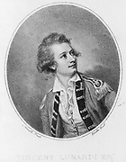 Vincenzo Lunardi (1759-1806) Italian aeronaut.