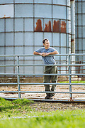 Guy Choiniere is a fourth generation Vermont dairy farmer based in the northern village of Highgate Center. Photographs by Oliver Parini.