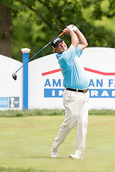 June 22, 2018 - Madison, WI, U.S. - MADISON, WI - JUNE 22: Wes Short, Jr. tees off on the eighteenth tee during the American Family Insurance Championship Champions Tour golf tournament on June 22, 2018 at University Ridge Golf Course in Madison, WI. (Photo by Lawrence Iles/Icon Sportswire) (Credit Image: © Lawrence Iles/Icon SMI via ZUMA Press)