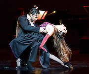 Tango Fire <br /> at The Peacock Theatre, London, Great Britain <br /> press photocall <br /> 30th January 2017 <br /> <br /> German Cornejo's Tango Fire<br /> <br /> <br /> ------------<br /> <br /> Zum <br /> Ezequiel &amp; Camila<br /> <br /> -------------------<br /> <br /> <br /> Photograph by Elliott Franks <br /> Image licensed to Elliott Franks Photography Services
