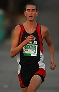 Oct 20, 2006; Walnut, CA, USA; Robbie Knorr of Valley Christian (Dublin) wins the Division V sweepstakes race in 15:27 over the 2.91-mile course in the 59th Mt. San Antonio College Cross Country Invitational.