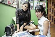 Sarina Thai is one of the most famous transgender supermodels in Thailand. She started out working for 3 years in Thailand but was rejected by many in the industry because there was so much taboo associated with transgender models. She moved to New York soon after and her career quickly gained momentum. After she returned home she says the reception was completely different. people respected her more because she has established her career and gotten then nod of approval from western designers. She now walks international runway shows and continues to do editorial work  and TV shows in Thailand. <br />