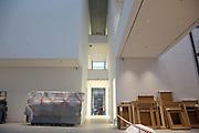 Mannheim. 08.11.17 | Zum Neubau Kunsthalle<br /> Innenstadt. Kunsthalle. Pressegespräch zum Neubau der Neuen Kunsthalle. Die Eröffnung der Neuen Kunsthalle im Dezember nur mit Skulpturen - keine Gemälde wegen technischen Verzögerungen.<br /> <br /> <br /> <br /> <br /> BILD- ID 01560 |<br /> Bild: Markus Prosswitz 08NOV17 / masterpress (Bild ist honorarpflichtig - No Model Release!)