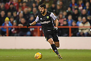 Norwich City striker Nelson Oliveira (9) during the EFL Sky Bet Championship match between Nottingham Forest and Norwich City at the City Ground, Nottingham, England on 21 November 2017. Photo by Jon Hobley.