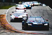 August 5 2018: IMSA Weathertech Continental Tire Road Race Showcase. 24 BMW Team RLL, BMW M8 GTLM, Jesse Krohn, John Edwards
