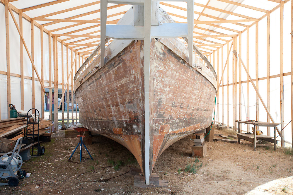 Bow of Skipjack Dee of St. Mary's, MD