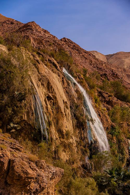 Ma'in Hot Springs, Jordan.