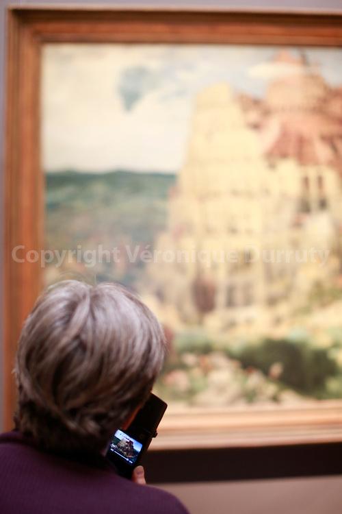 Paintings gallerie, Kunsthistorisches Museum, Vienna, Austria : Pieter Bruegel, Babel Tower // Galerie de peinture du Kunsthistorisches Museum, Vienne, Autriche : Pieter Bruegel, la tour de Babel