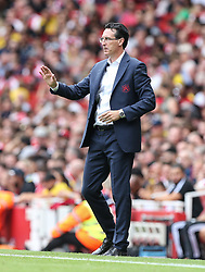 Arsenal manager Unai Emery - Mandatory by-line: Arron Gent/JMP - 28/07/2019 - FOOTBALL - Emirates Stadium - London, England - Arsenal v Olympique Lyonnais - Emirates Cup