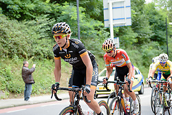 Annette Edmondson (Wiggle Honda) on the Cauberg at the Boels Rental Ladies Tour 2015.