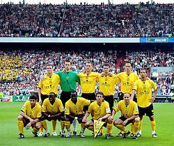 27-04-2008 VOETBAL: KNVB BEKERFINALE FEYENOORD - RODA JC: ROTTERDAM <br /> Feyenoord wint de KNVB beker - Teamfoto Roda JC<br /> ©2008-WWW.FOTOHOOGENDOORN.NL