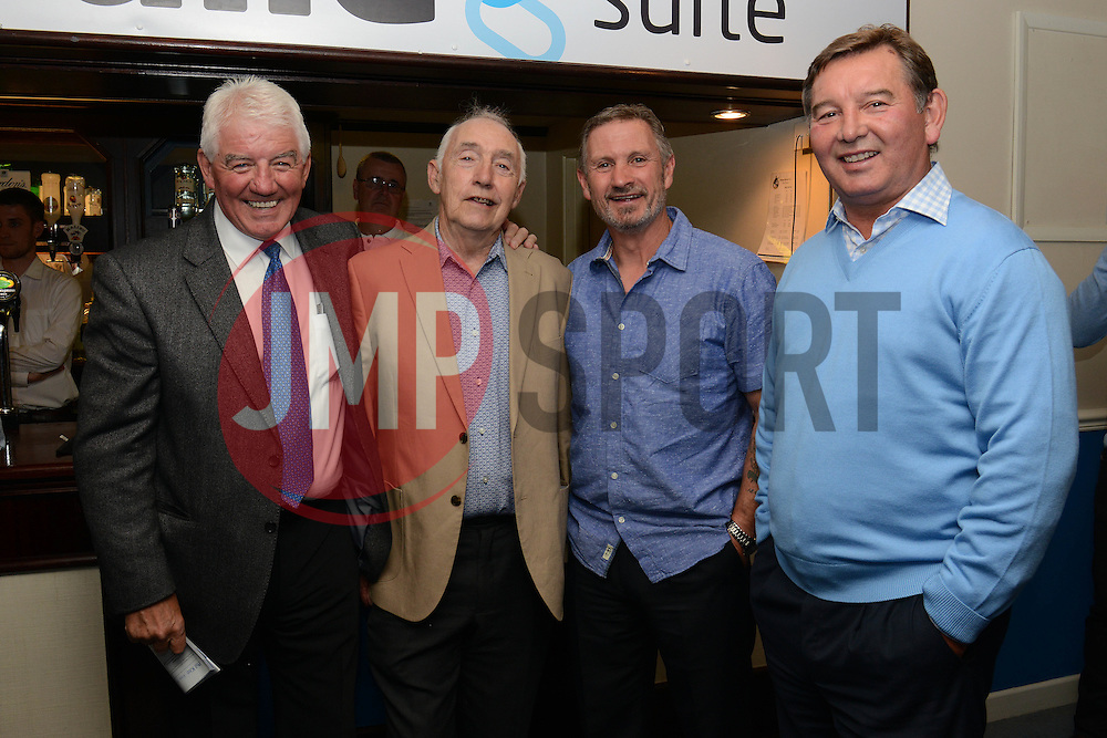 Tom Stanton, Harold Jarman, Phil Bater and Peter Aitken  - Mandatory byline: Dougie Allward/JMP - 07966386802 - 31/07/2015 - FOOTBALL - Memorial Stadium -Bristol,England - Bristol Rovers v West Brom - Phil Kite Testimonial Match