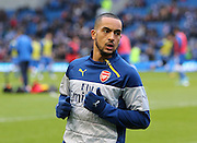 Arsenal's Theo Walcott during the The FA Cup match between Brighton and Hove Albion and Arsenal at the American Express Community Stadium, Brighton and Hove, England on 25 January 2015. Photo by Phil Duncan.