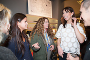 BIP LING; PAULA KARAISKOS; SAMANTHA CAMERON, Smythson Sloane St. Store opening. London. 6 February 2012.