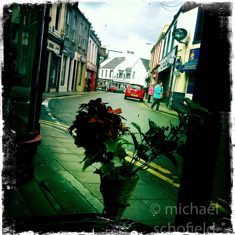 Stranraer..Hipstamatic images taken on an Apple iPhone..©Michael Schofield.