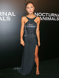 Celebrities are seen attending the special screening of Focus Features' 'Nocturnal Animals' at the Hammer Museum in Los Angeles. 11 Nov 2016 Pictured: Alexis Ren. Photo credit: Bauer Griffin / MEGA TheMegaAgency.com +1 888 505 6342