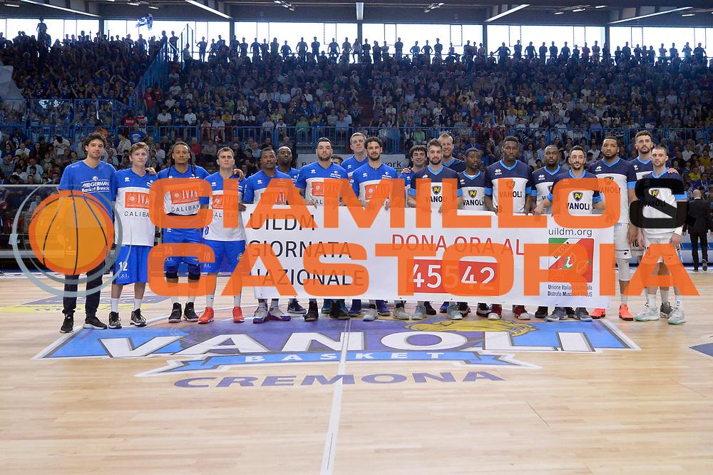Germani Basket Brescia Leonessa, Vanoli Cremona<br /> Vanoli Cremona - Germani Basket Brescia Leonessa<br /> Lega Basket Serie A 2016/2017<br /> Cremona, 09/04/2017<br /> Foto M.Ceretti / Ciamillo - Castoria