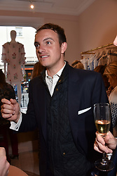Viscount Erleigh at the launch of the Beulah Flagship store, 77 Elizabeth Street, London England. 16 May 2018.