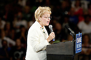 Marcy Kaptur at Barack Obame event in Toledo, Ohio October 13, 2008