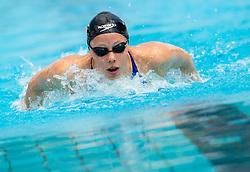 Tjasa Oder of PK Fuzinar Ravne competes in 400m Medley during Slovenian Swimming National Championship 2014, on August 2, 2014 in Ravne na Koroskem, Slovenia. Photo by Vid Ponikvar / Sportida.com