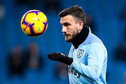 Robert Snodgrass of West Ham United - Mandatory by-line: Robbie Stephenson/JMP - 27/02/2019 - FOOTBALL - Etihad Stadium - Manchester, England - Manchester City v West Ham United - Premier League