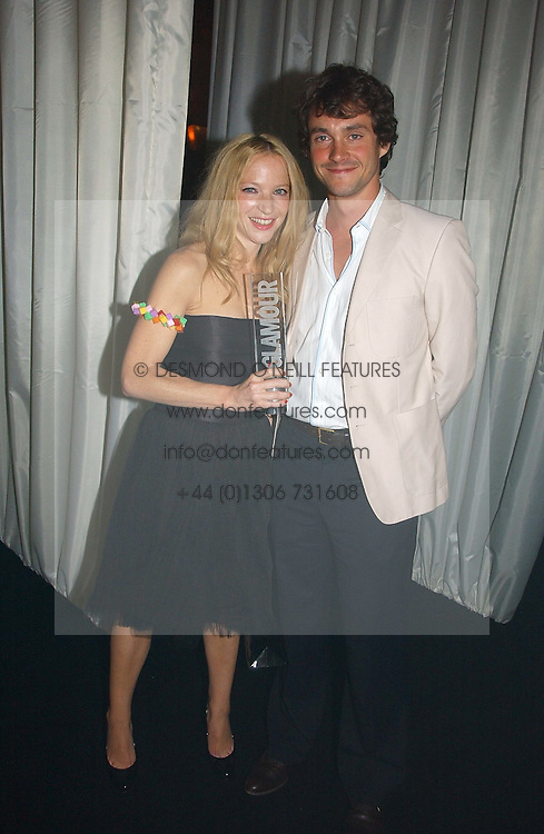 NATALIE PRESS and HUGH DANCY at the 2006 Glamour Women of the Year Awards 2006 held in Berkeley Square Gardens, London W1 on 6th June 2006.<br /><br />NON EXCLUSIVE - WORLD RIGHTS