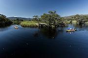 Santana do Riacho_MG, Brasil.<br /> <br /> Passeio de canoa no Rio Cipo em Santana do Riacho, Minas Gerais.<br /> <br /> Canoe trip on the Cipo River in Santana do Riacho, Minas Gerais.<br /> <br /> Foto: LEO DRUMOND / NITRO