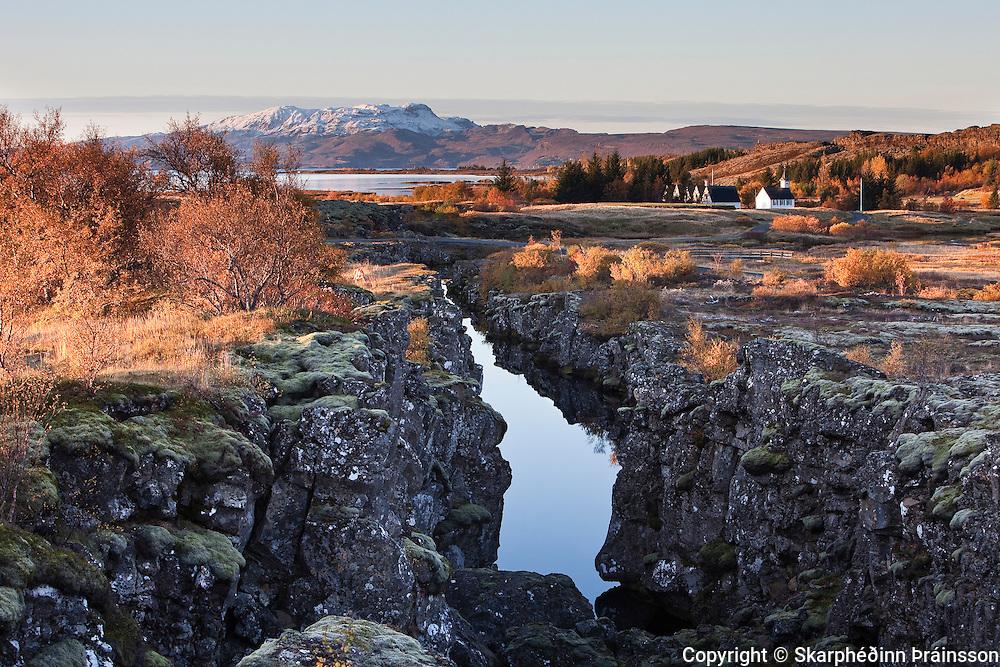 Þingvellir National Park, south west Iceland