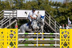 Vrieling Jur, NED, El Rocco<br /> Nederlands Kampioenschap Springen<br /> De Peelbergen - Kronenberg 2020<br /> © Hippo Foto - Dirk Caremans<br />  06/08/2020