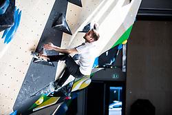 Milan Preskar during press conference before the new season of climbing 2019, on April 1, 2019 in Ljubljana, Slovenia. Photo by Peter Podobnik / Sportida