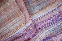 Rainbow Vista Colorful Patterns in Sandstone, Valley of Fire State Park, Nevada